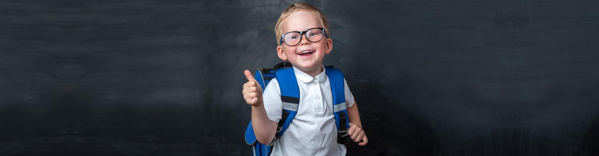 child doing ok sign